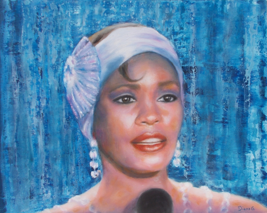 Whitney Houston by Artistica